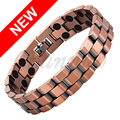 Channah Men 2017 Antique Copper 36pcs Magnets Magnetic Bio Classic Bracelet Male Bangle Boy Gift Jewellery Free Shipping Charm