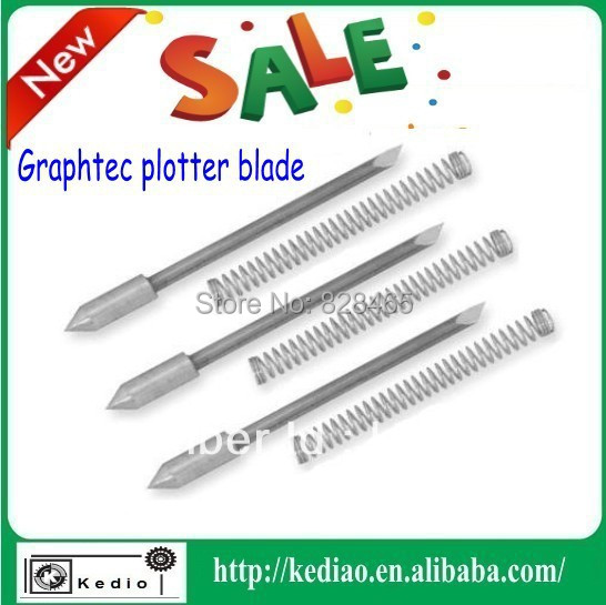 30/45/60 degree CB09U graphtec plotter blade ,vinyl blade 5 pcs,printer blades