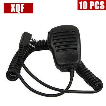 XQF 10PCS SPEAKER MIC for KENWOOD TH-F6A TH-K2AT TH-K2ET TH-22AT TH-42AT TH-79A TH-215 Two Way Radio фото