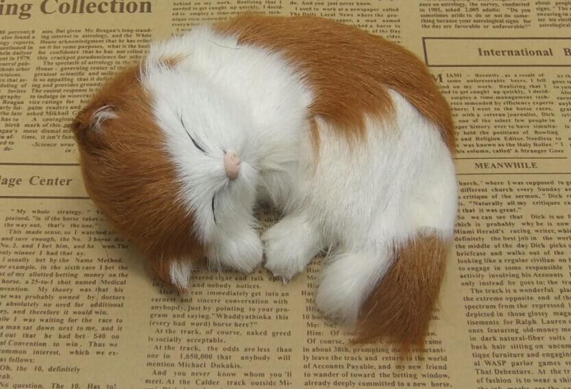 Štiri barvne neobvezna simulacija krzno živali mačka nap super - Dekor za dom - Fotografija 3