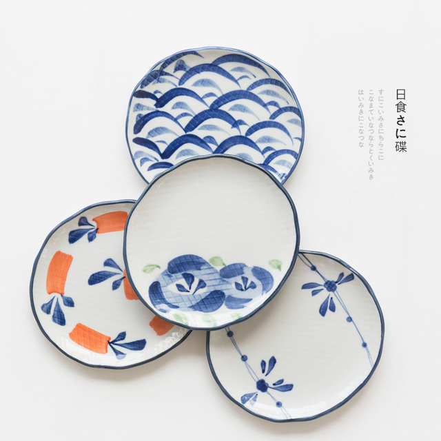 ceramic dinner plates retro Japan style 5 inch irregular under glazed porcelain 1 piece cake dessert  sc 1 st  AliExpress.com & ceramic dinner plates retro Japan style 5 inch irregular under ...