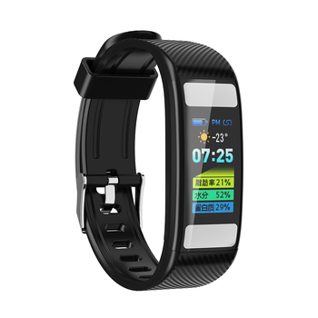 New C33 Body fat Smart Bracelet 0.96'' HD Color Screen Heart Rate Monitor Bluetooth Step Counter Sport Watch Smart Band