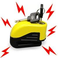 Security Protect Bike Motorcycle Anti Thief Electric Bike Wheel Disc Brake Alarm Lock Zinc Alloy Siren