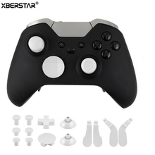 16pcs Spare Parts for Xbox One Elite Wireless Controller Gamepad Joystick Thumb Caps Dpad crisscross screwdriver w/tool