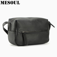 100 Genuine Leather Shoulder Bags Girls Boston Simple Style Small Women Messenger Bag Casual High Quality