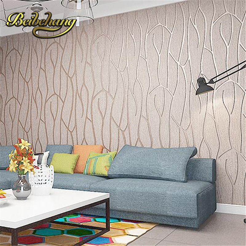 beibehang papel de parede.Living room TV background non-woven wallpaper modern minimalist bedroom wall decoration plain 3D video beibehang non woven pink love printed wallpaper roll striped design wall paper for kid room girls minimalist home decoration