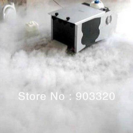 Низкая цена 3000 Вт низине туман машина для освещения сцены, низкий туман машина, сухой лед машина тумана