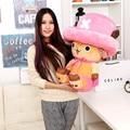 One Piece Аниме, плюш, детские Игрушки One Piece Чоппер Плюшевые Игрушки Хлопок Материал Бесплатная Доставка