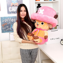 One Piece Anime, Plush, Baby Toys One Piece Chopper Plush Toys Cotton Material Free Shipping