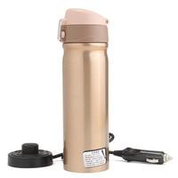 12 V 400 ml Auto Reizen Auto Rvs Verwarming Elektrische Thermosflessen Fles Koffie Thee Cup Mijn Kokend Water Fles Thermosflessen