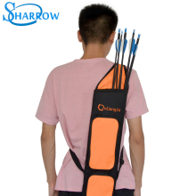 1pcArchery Quiver Adjustable Telescopic Back Capacity Forty Arrow Portable Strape Hunting Bag Archery Accessories