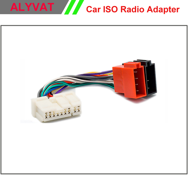 Auto ISO radio Adapter Stecker Für Nissan Almera Premiera Micra ...