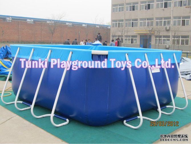 New Product Rectangular Metal Steel Frame Swimming Pool With Factory Price