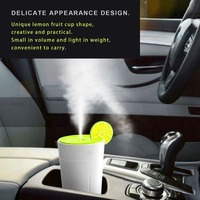 Portable HK 832 USB Lemon Humidifier Fruit Cup Shape 200ml Ultra Quiet For Home Office