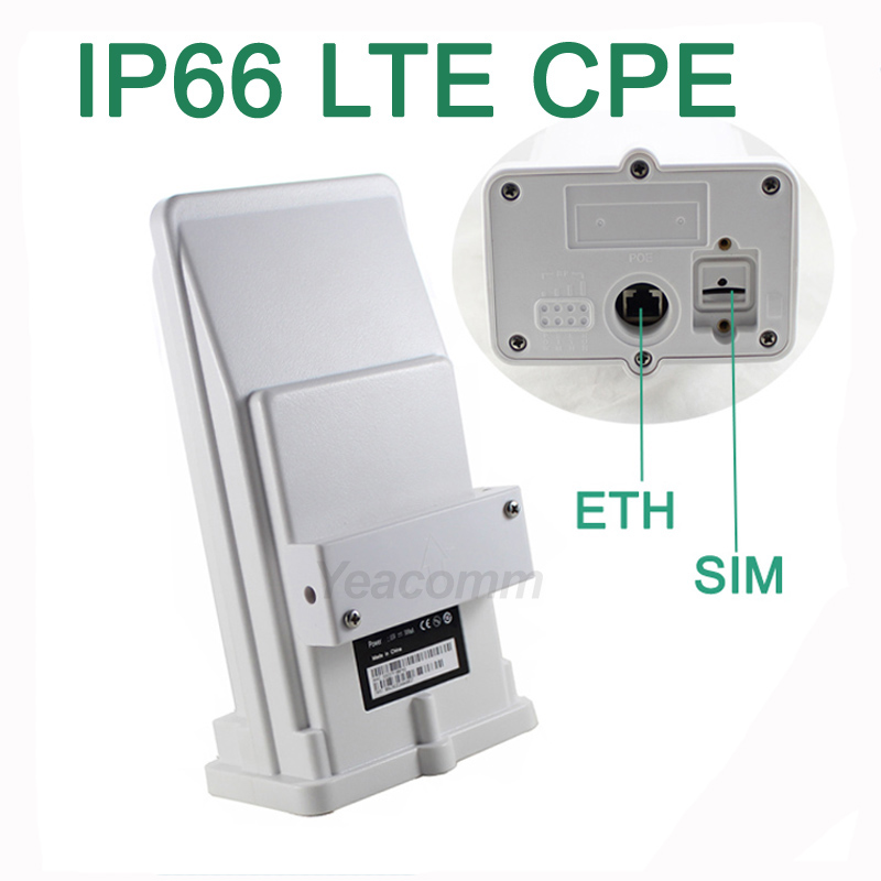 Spedizione gratuita! YF-P11 outdoor 4g CPE router access point bridge LTE 150M con antenna incorporata 8dbi