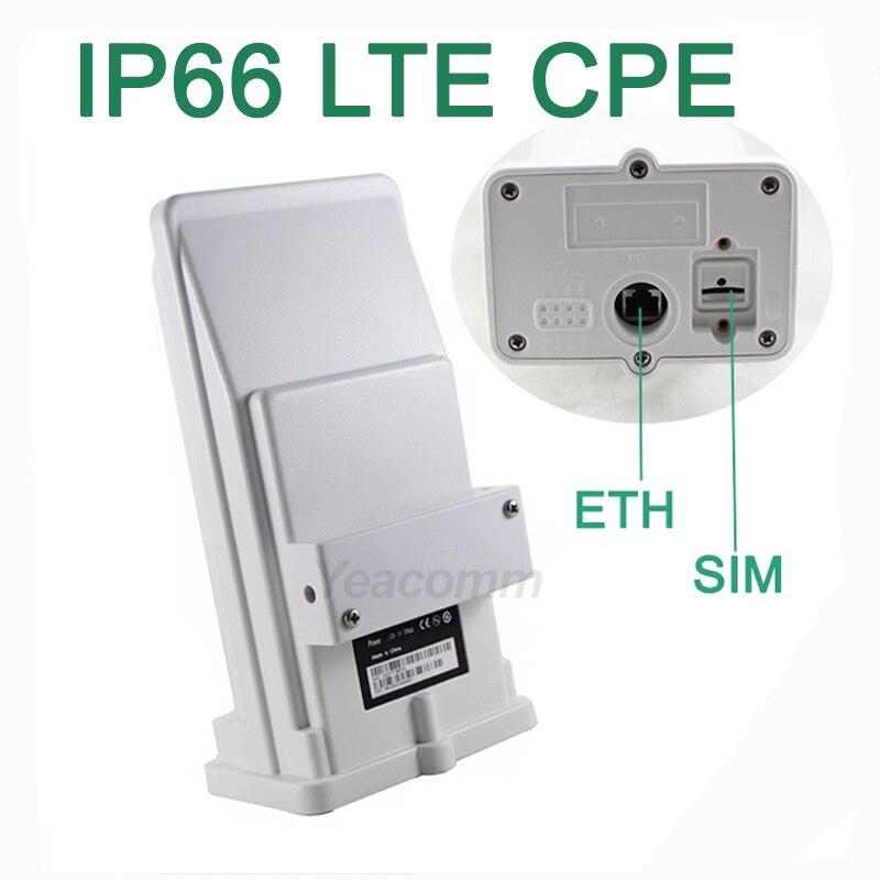 Livraison Gratuite! YF-P11 extérieure 4g CPE routeur point d'accès pont LTE 150 m avec 8dbi antenne intégrée