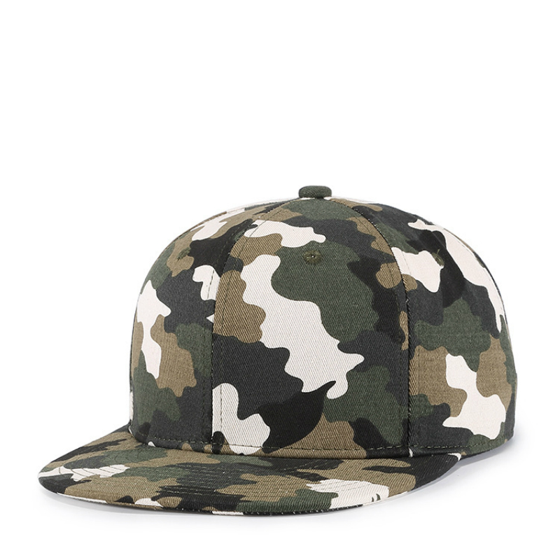 High Quality Camouflage Hip Hop Hat for Men Mens Cap Cotton 3 Choose