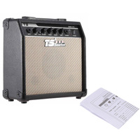 High Quality GM 215 15W Electric Guitar Amplifier Amp Distortion with 5 Speaker 3 Band EQ to Control Treble Middle and Bass