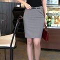 2016 Brand Designer Summer/Autumn Formal Knee-Length High Waist Professiona Slim Pencil office Skirt Lady OL Skirt Plus Size 4XL