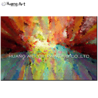 New Ideas Art Hand Painted Abstract Oil Paintings For Living Room Wall Decor Handmade Modern Colorful