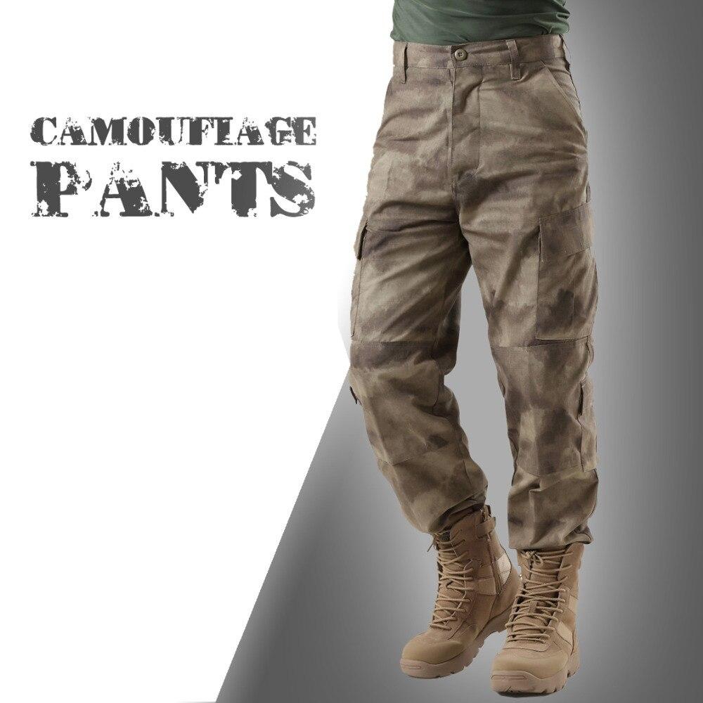 Men's Tactical Military Lightweight Assault Combat Rip-stop Pants ACU AU FG Multicam Camo Trouser