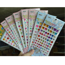 1 Sheeet Children Acrylic Diamond Sticker DIY For Kids Gift Sticker()
