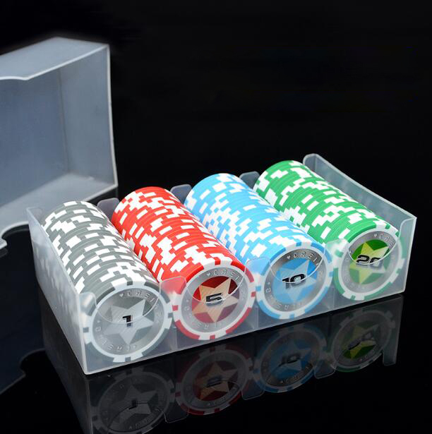 Poker Chips 100 pcs Set