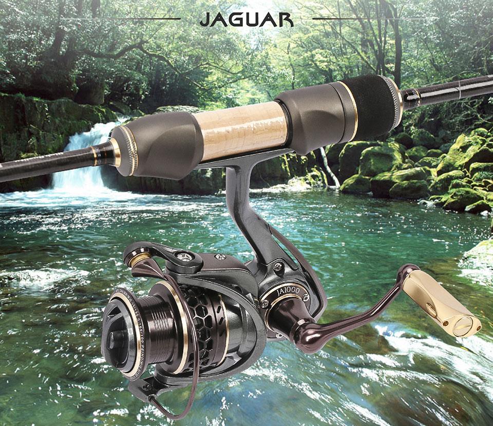 Moulinet mer TSURINOYA Jaguar 1000-5000 9+1 roulements à billes, frein 7 Kg carbone