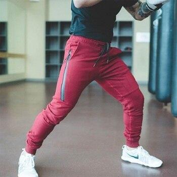Joggingbroek Heren Katoen.2018 Gym Training Jogging Broek Heren Joggers Slim Fit Voetbal