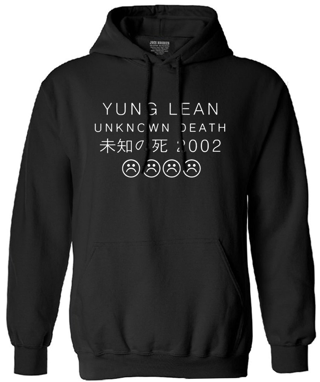 YUNG LEAN UNKNOWN DEATH Sad Boys Sweatshirt Men Cotton Long Sleeve Autumn Male Tracksuit Man's Man Brand Clothing Hoody Hooded