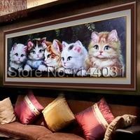 MYCELLA Abstract Love Birds 5D Diy Square Diamond Embroidery Animals Cute Cat Needlework Cross Stitch Full