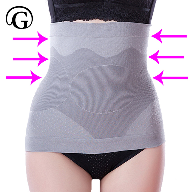 13ed8f1575 PRAYGER Women Bamboo Healthy Waist Cincher Seamless Control Belly Slimming Shaper  Belt Tummy Trimmer Corset Wrap