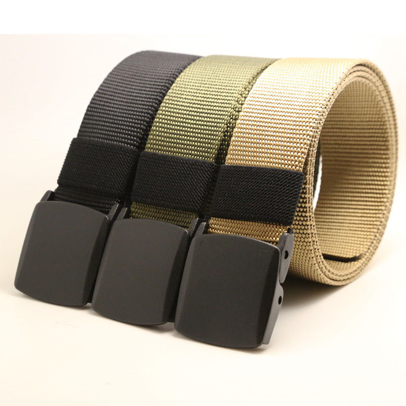 Men/'S Military Outdoor Sports Military Tactical Nylon Waistband Canvas Web Belt