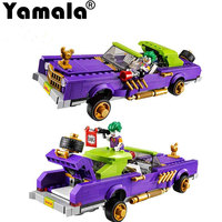 Yamala Batman Movie The Joker Notorious Lowrider Harley Quinn Building Block Toys Compatible Legoingly Batman