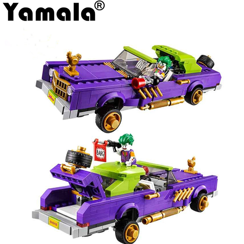 [Yamala]  Batman Movie The Joker Notorious Lowrider Harley Quinn Building Block Toys Compatible Legoingly Batman