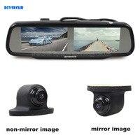 Đúp Màn Hình 4.3 inch TFT LCD Chiếu Hậu Monitor Xe Gương + Car Rear View Camera cho Lùi/Front/Side Xem Ảnh