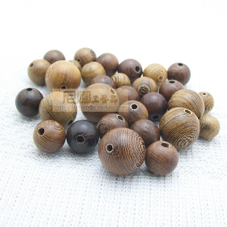 3Natural Wood Beads Spacer Ball 12mm diameter, BUDDHA BEADS, DIY bracelet - Quality Store store