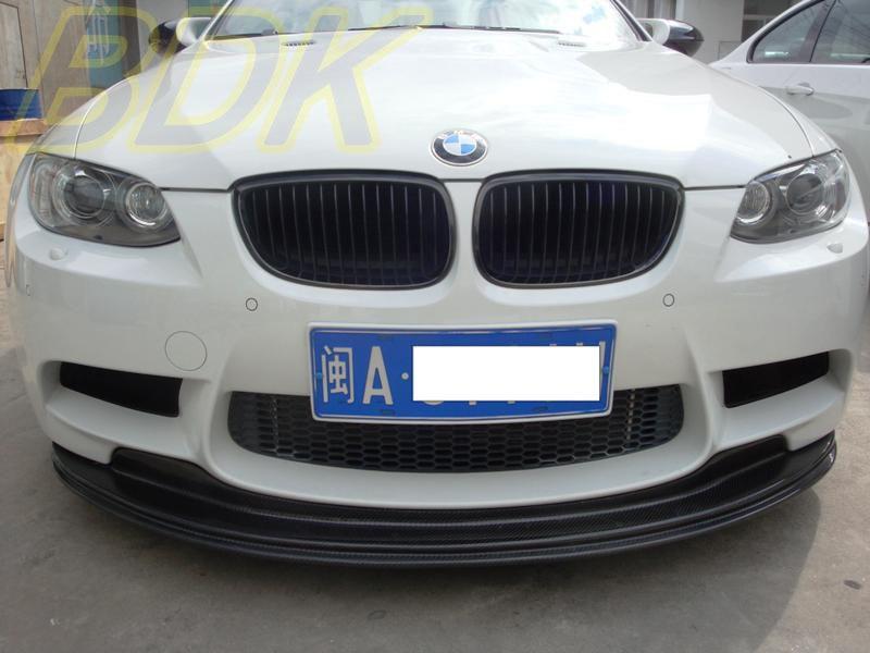 E92 M3 Carbon Front lip GTS Style E90 M3 E93 M3 Front Bumper Lip Spoiler CF