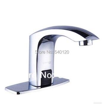 Deck mounted bathroom sensor water saver infrared sensor tap