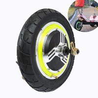 24v 36v 48v BLDC Front Rear Drive Hub Motor 12 Pneumatic Air tire Folding Electric Bycycle Scooter E bike Motor Engine 12 inch