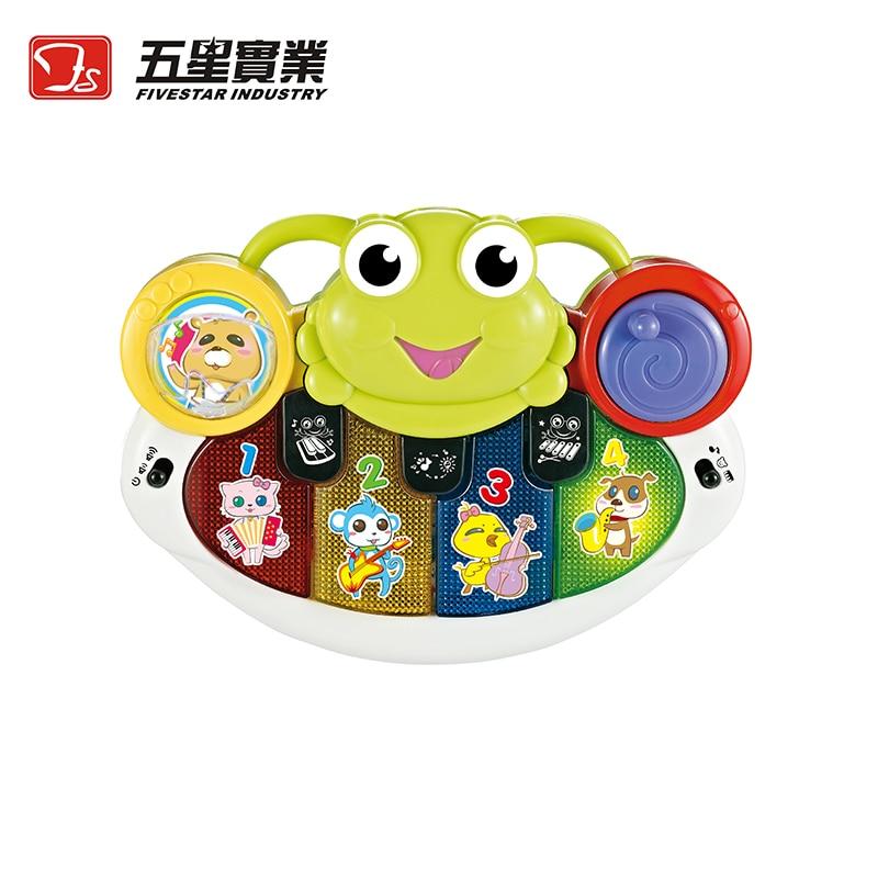 Jouets FS 1 PC 35811 grenouille-piano jouets musicaux développementaux pour enfants instrument de musique pour enfant en bas âge bébé enfants piano éducatif - 2