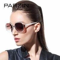 PARZIN Brand Polarized Sunglasses Women Big Cat Eye Metal Frame Grace Elegance Fashion High Quality Driving
