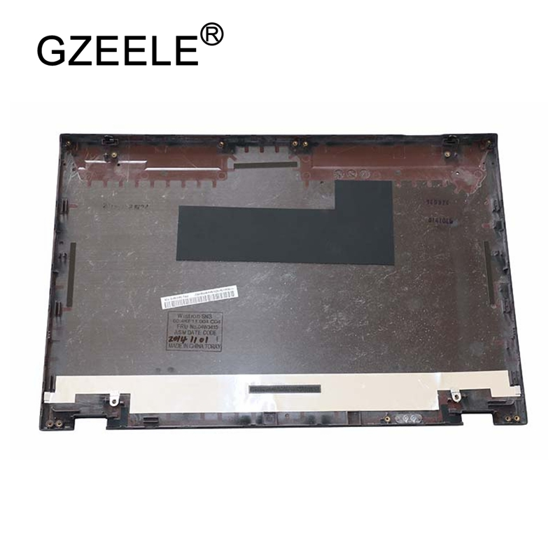 GZEELE NEW for Lenovo for ThinkPad T430S T420s LCD Cover Rear Lid Top Back case Shell 04W3415 BLACK new original for lenovo thinkpad yoga 260 bottom base cover lower case black 00ht414 01ax900