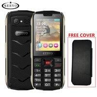 SERVO H8 Mobile Phone 2.8 pollici 4 sim 4 standby Bluetooth Torcia GPRS 3000 mAh Banca di Potere Del Telefono Russo lingua della tastiera