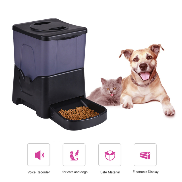 gadgets automatic pet pintofeed dog feeder misc technology stuff