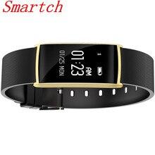 Smartch N108 смарт-браслет крови кислородом давление 0.96 дюймов сердечного ритма monito BT 4.0 IP67 водонепроницаемый сообщение push смарт-браслет