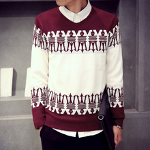 Men Sweaters Autumn Winter O-Neck Sweater New Style Teenagers Casual Pullover Popular Comfortable Thin Sweater Tops High Quality