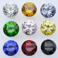 K9 Crystal Glass Handle Knob Drawer Cabinet Door New (D:30mm,Yellow, Blue , Pink, Red , Black, Green)