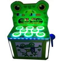 Гладить Кабинета молотковая хит лягушка монетами машина игры для детей в торговый центр