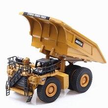 1/40 масштаб грузовик Литой Сплав металлический автомобильный экскаватор шахтный самосвал экскаватор модель игрушки инженерный грузовик для детской коллекции